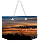 Twilight Colorful Sunset Weekender Tote Bag
