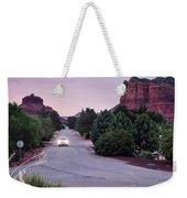 Twilight Drive Weekender Tote Bag