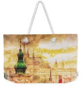 Twilight In Praha Weekender Tote Bag