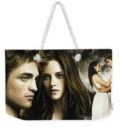 Twilight  Kristen Stewart And Robert Pattinson Artwork 1 Weekender Tote Bag