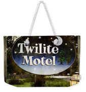 Twilight Motel Weekender Tote Bag