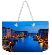 Twilight On The Grand Canal Weekender Tote Bag