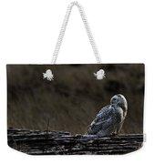 Twilight Owl Weekender Tote Bag