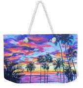 Twilight Palms Weekender Tote Bag
