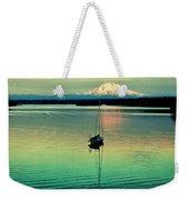 Twilight Sail Weekender Tote Bag