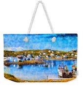 Twillingate In Newfoundland Weekender Tote Bag