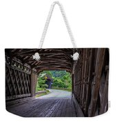 Twin Covered Bridges North Hartland Vermont Weekender Tote Bag