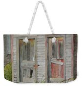 Twin Doors In Watercol Weekender Tote Bag