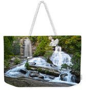 Twin Falls Flows Forth Weekender Tote Bag