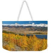 Twin Lakes Colorado Autumn Landscape Weekender Tote Bag