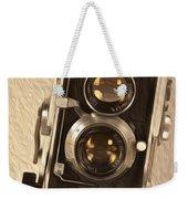 Twin Lens Reflex Redux Weekender Tote Bag