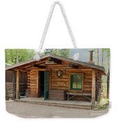 Twin No. 1 Cabin At The Holzwarth Historic Site Weekender Tote Bag