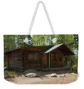 Twin No. 2 Cabin At The Holzwarth Historic Site Weekender Tote Bag