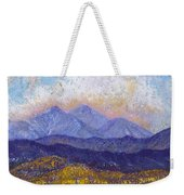 Twin Peaks Above The Fruited Plain Weekender Tote Bag