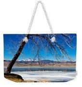 Twin Peaks Blue Weekender Tote Bag
