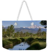 Twin Peaks View Weekender Tote Bag by James BO  Insogna