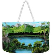 Twin Ponds Weekender Tote Bag