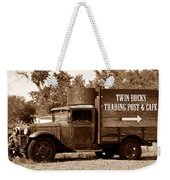 Twin Rocks Trading Post Weekender Tote Bag