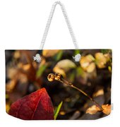 Twin Spotted Wintergreen Pods Weekender Tote Bag