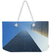 Twin Towers Weekender Tote Bag by Jon Neidert