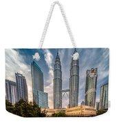 Twin Towers Kl Weekender Tote Bag by Adrian Evans