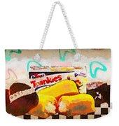 Twinkies Cupcakes Ding Dongs Gone Forever Weekender Tote Bag