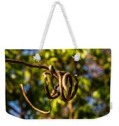 Twirling Vine Tendril Weekender Tote Bag