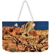 Twisted And Colorful Weekender Tote Bag
