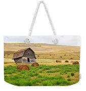 Twisted Barn On Canadian Prairie, Big Weekender Tote Bag