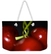 Twisted Cherries Weekender Tote Bag