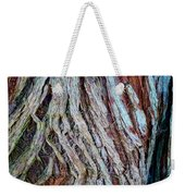 Twisted Colourful Wood Weekender Tote Bag
