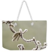 Twisted Frost Weekender Tote Bag by Anne Gilbert