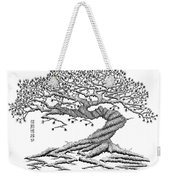 Twisted Gnarled Black Pine Weekender Tote Bag