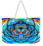 Heart In Blues Weekender Tote Bag