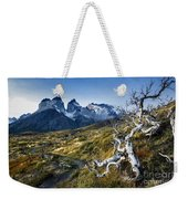 Twisted Tree And Trail Weekender Tote Bag