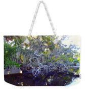 Twisted Tree Weekender Tote Bag by Carey Chen