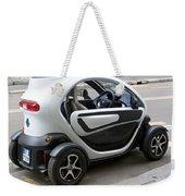 Twizy Rental Electric Car Side And Back Milan Italy Weekender Tote Bag
