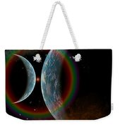 Two Alien Planets In A Distant Part Weekender Tote Bag