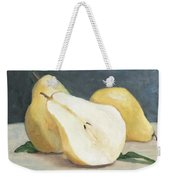 Two And A Half Pears Weekender Tote Bag