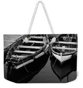 Two At Dock Weekender Tote Bag