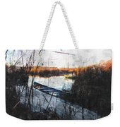 Two At The Dock Weekender Tote Bag