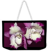 Two Baby Orchids Weekender Tote Bag