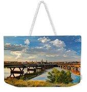 Two Bridges Weekender Tote Bag