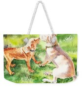 Two Brothers Labradors Weekender Tote Bag