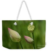 Two Buds In A Shower Weekender Tote Bag
