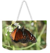 Two Butterflies Weekender Tote Bag