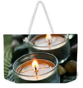 Two Candles Weekender Tote Bag