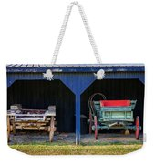 Two Carts Weekender Tote Bag