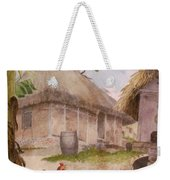 Two Chickens Two Pigs And Huts Jamaica Weekender Tote Bag