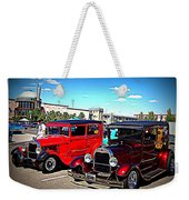Two Classy Classics Weekender Tote Bag